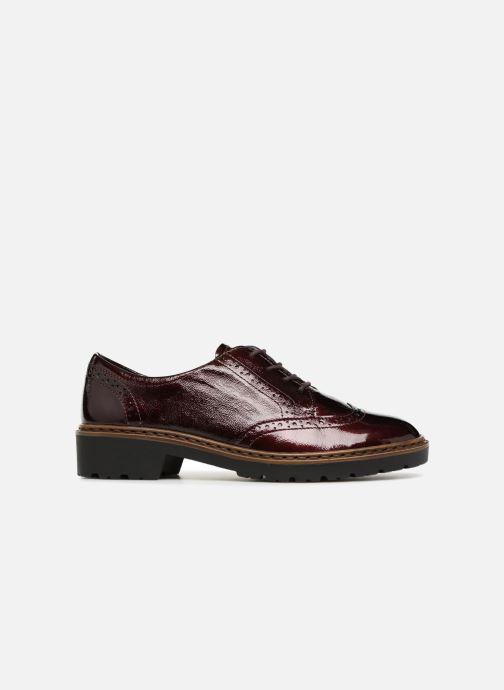 Zapatos con cordones Ara Richmont 16502 Vino vistra trasera