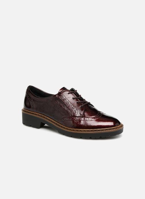 Zapatos con cordones Ara Richmont 16502 Vino vista de detalle / par