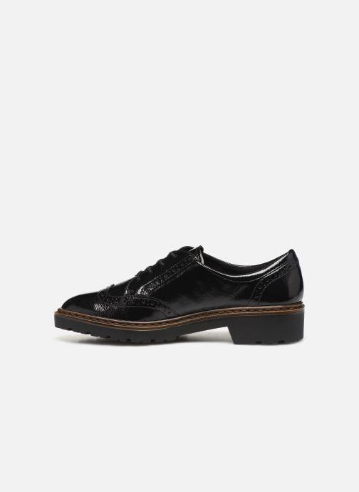 Zapatos con cordones Ara Richmont 16502 Negro vista de frente