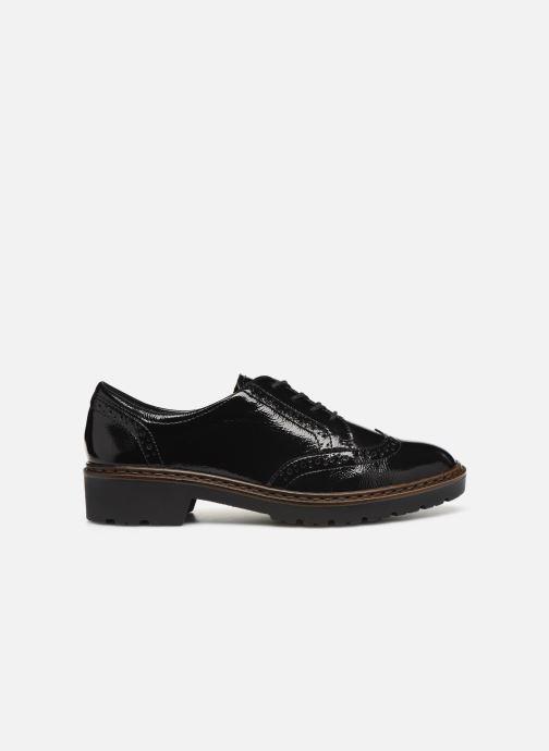 Zapatos con cordones Ara Richmont 16502 Negro vistra trasera