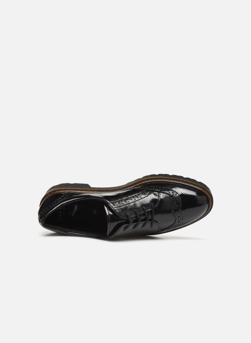 Zapatos con cordones Ara Richmont 16502 Negro vista lateral izquierda