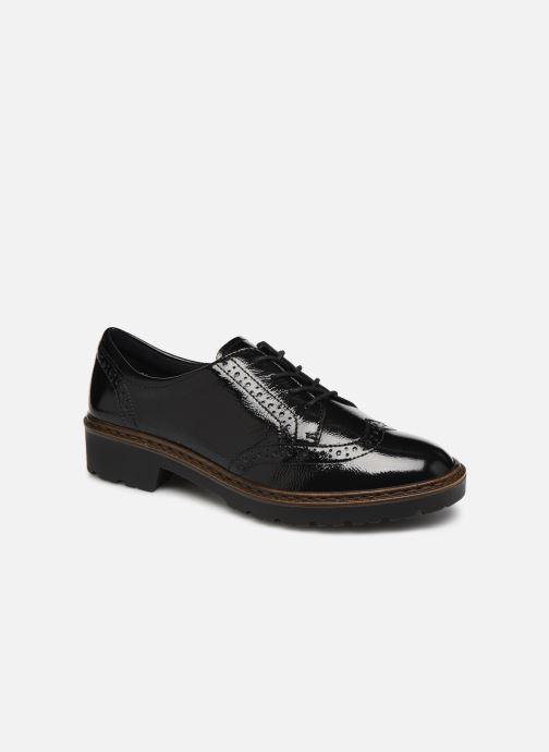 Zapatos con cordones Ara Richmont 16502 Negro vista de detalle / par