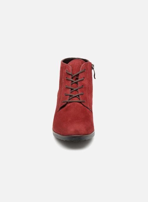 Botines  Ara Florenz 16942 Rojo vista del modelo