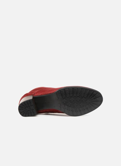 Botines  Ara Florenz 16942 Rojo vista de arriba
