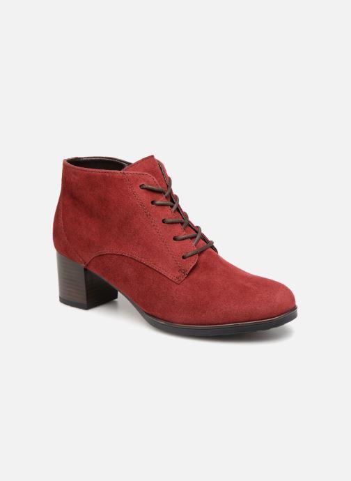 Botines  Ara Florenz 16942 Rojo vista de detalle / par
