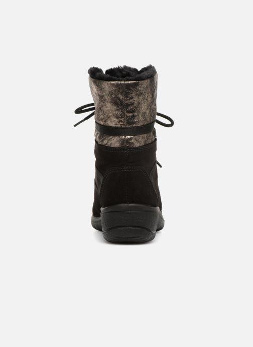 Zapatillas de deporte Ara München 48523 Negro vista lateral derecha