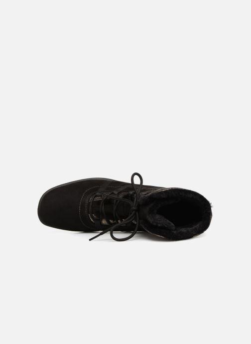 Zapatillas de deporte Ara München 48523 Negro vista lateral izquierda