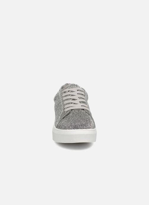 Baskets Pieces SNEAKER Argent vue portées chaussures