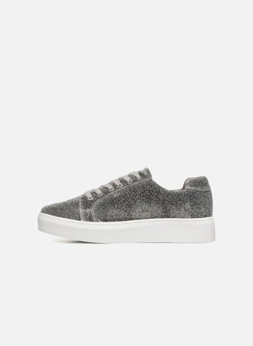 Baskets Pieces SNEAKER Argent vue face