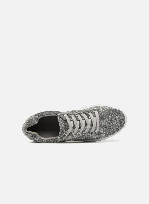 Sneakers Pieces SNEAKER Zilver links