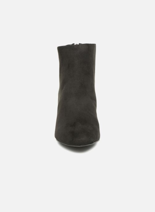 Bottines et boots Pieces PSDAJA BOOT Noir vue portées chaussures