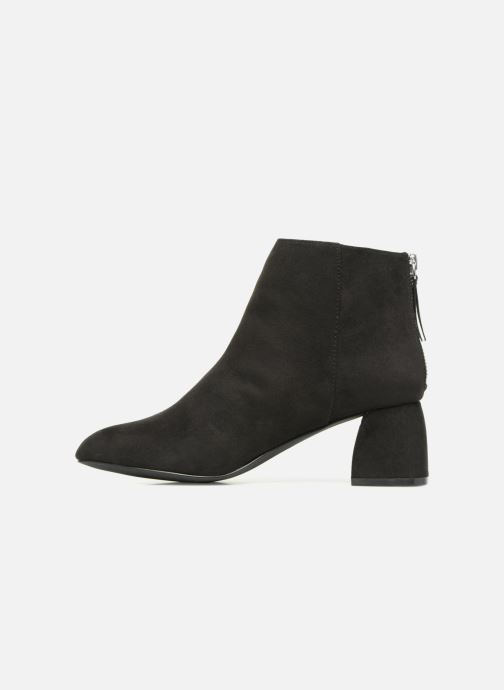Bottines et boots Pieces PSDAJA BOOT Noir vue face