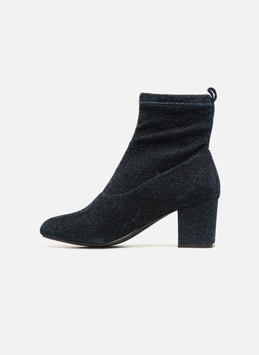 Bottines et boots Pieces PSDONNA GLITTER Bleu vue face