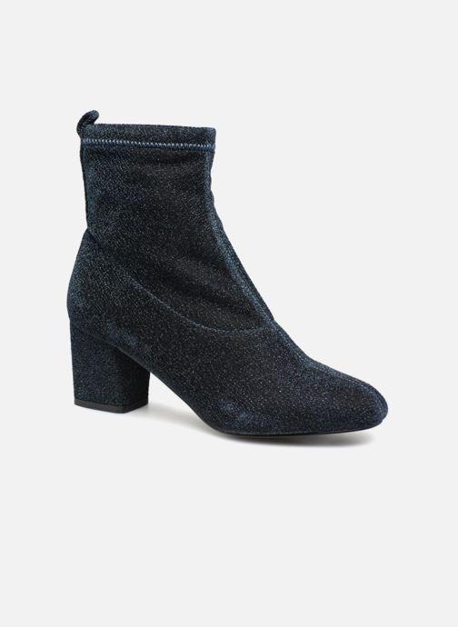 Bottines et boots Pieces PSDONNA GLITTER Bleu vue détail/paire