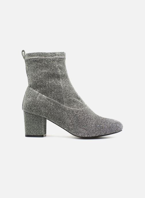 Stiefeletten & Boots Pieces PSDONNA GLITTER silber ansicht von hinten