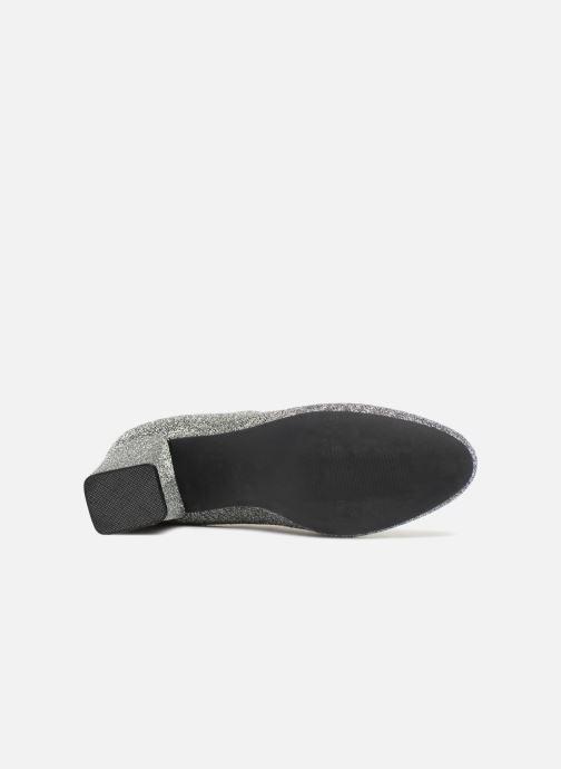Stiefeletten & Boots Pieces PSDONNA GLITTER silber ansicht von oben
