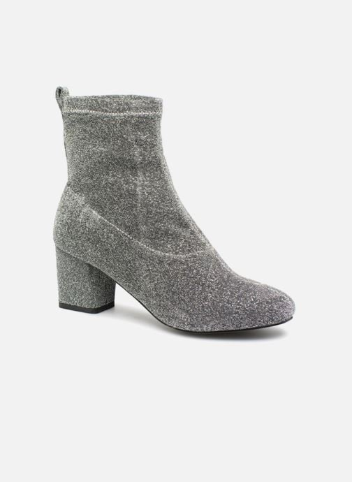 Bottines et boots Pieces PSDONNA GLITTER Argent vue détail/paire