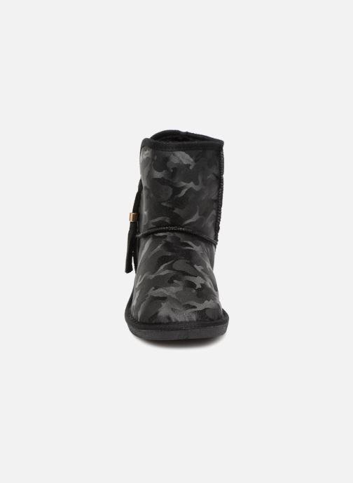 Bottines et boots Pieces PSDIA WINTER BOOT Noir vue portées chaussures
