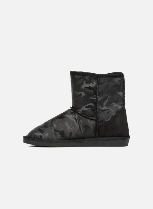 Bottines et boots Pieces PSDIA WINTER BOOT Noir vue face