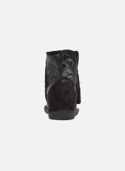 Bottines et boots Pieces PSDIA WINTER BOOT Noir vue droite