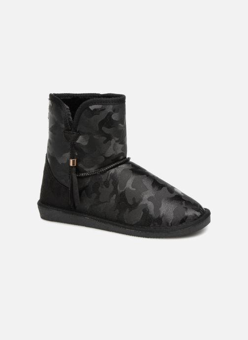 Bottines et boots Pieces PSDIA WINTER BOOT Noir vue détail/paire
