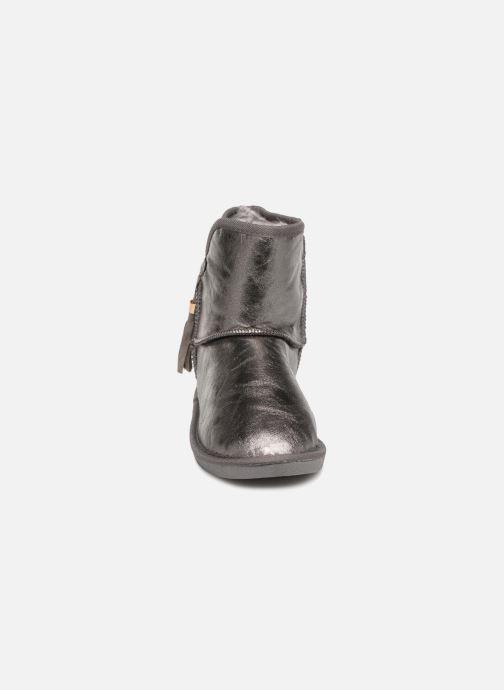 Stiefeletten & Boots Pieces PSDIA WINTER BOOT silber schuhe getragen