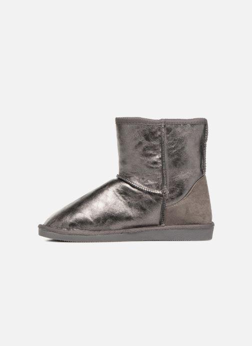 Stiefeletten & Boots Pieces PSDIA WINTER BOOT silber ansicht von vorne