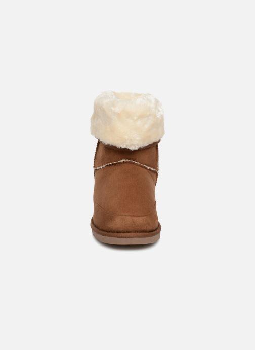 Stiefeletten & Boots Pieces PSDEVAN WINTER BOOT braun schuhe getragen
