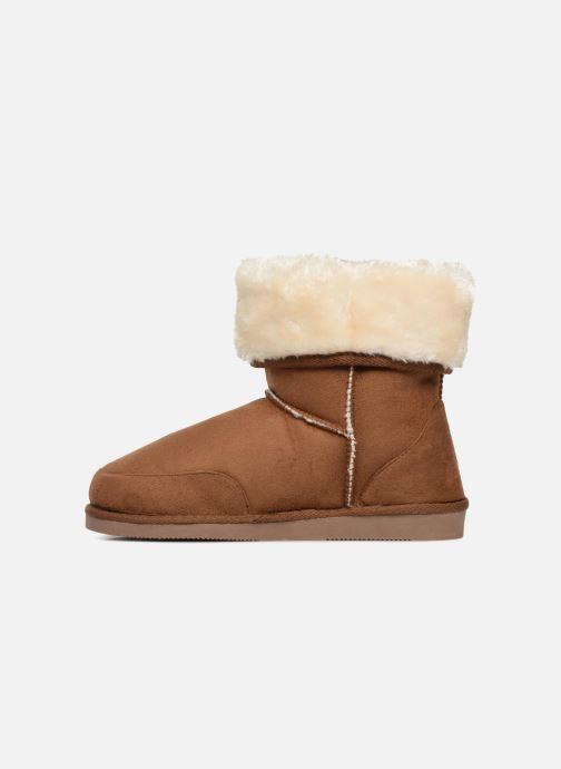 Stiefeletten & Boots Pieces PSDEVAN WINTER BOOT braun ansicht von vorne