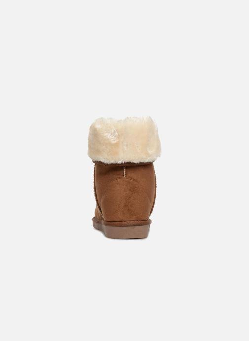 Stiefeletten & Boots Pieces PSDEVAN WINTER BOOT braun ansicht von rechts