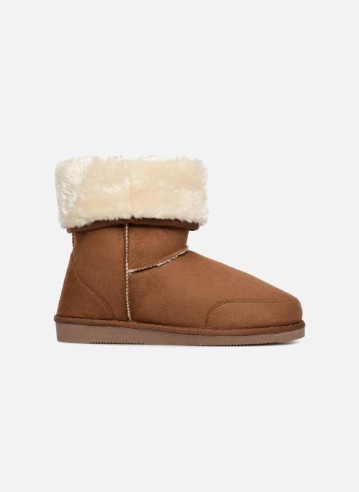 Stiefeletten & Boots Pieces PSDEVAN WINTER BOOT braun ansicht von hinten