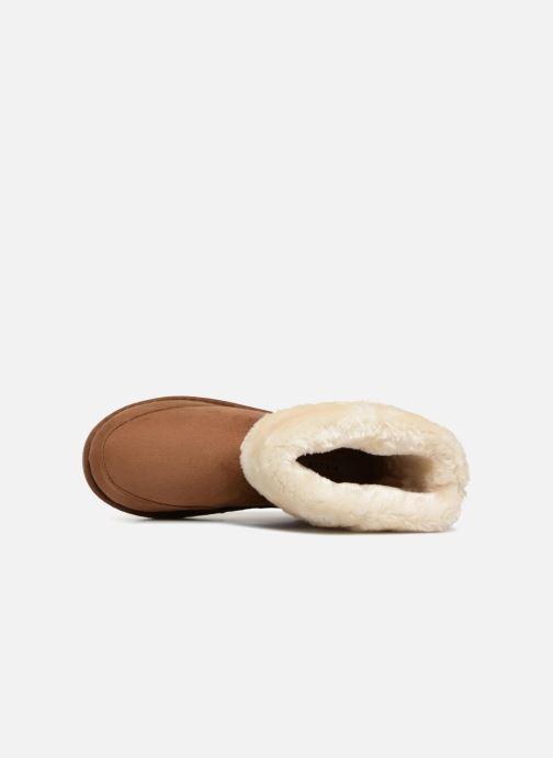 Stiefeletten & Boots Pieces PSDEVAN WINTER BOOT braun ansicht von links