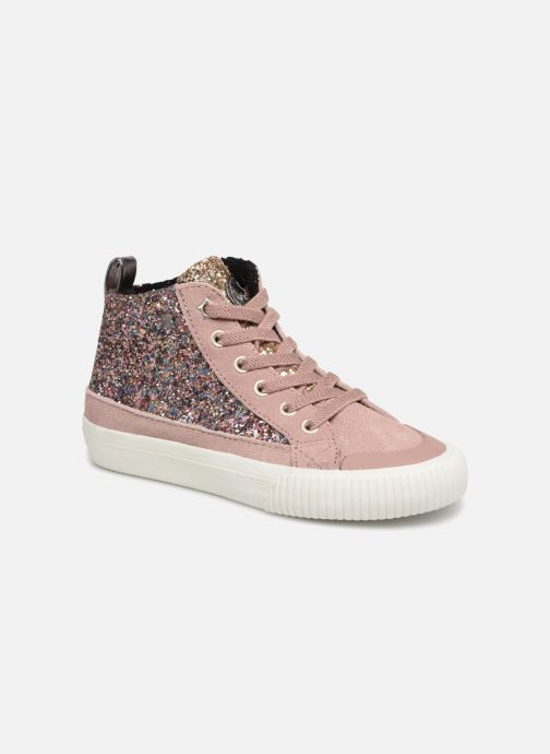 Sneakers Victoria Bota Glitter Cremallera Roze detail