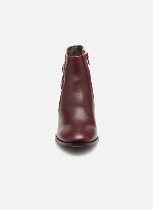 Bottines et boots COSMOPARIS VOTEA/BI Bordeaux vue portées chaussures