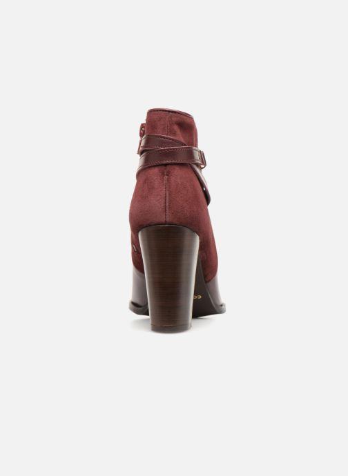 Bottines et boots COSMOPARIS VOTEA/BI Bordeaux vue droite