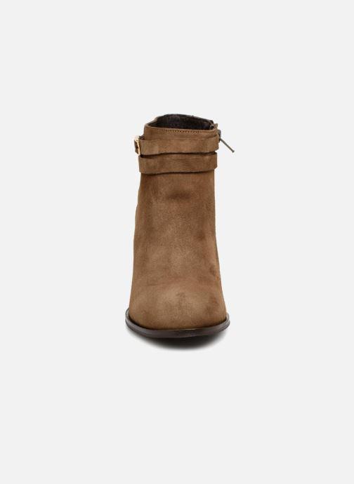 Bottines et boots COSMOPARIS VOUDI/VEL Vert vue portées chaussures