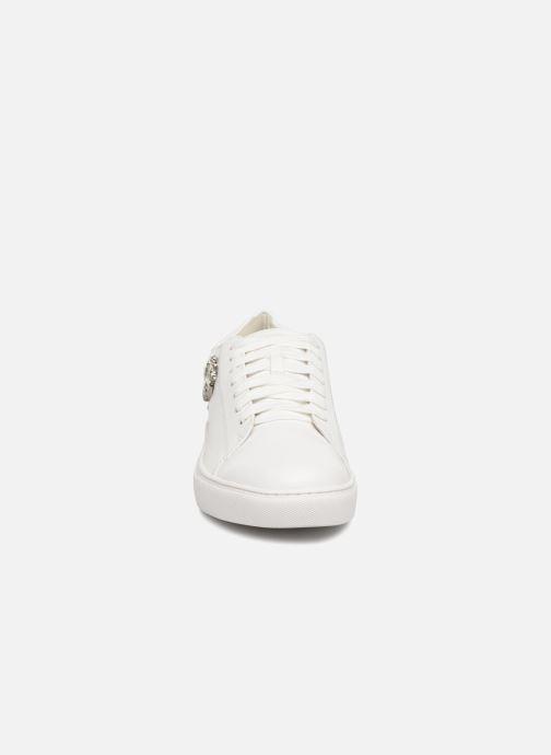 Baskets COSMOPARIS HEYA Blanc vue portées chaussures