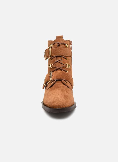 Bottines et boots COSMOPARIS VAHIA/VEL Marron vue portées chaussures
