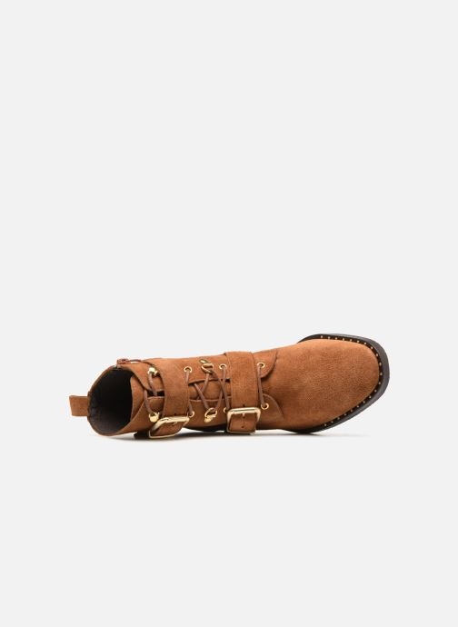 Bottines et boots COSMOPARIS VAHIA/VEL Marron vue gauche