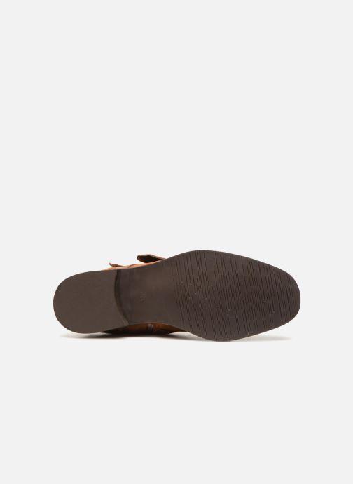 Bottines et boots COSMOPARIS VAHIA/VEL Marron vue haut