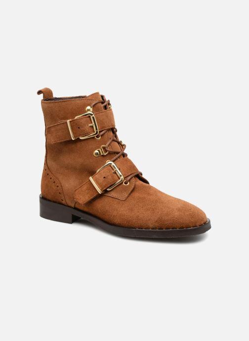 Bottines et boots COSMOPARIS VAHIA/VEL Marron vue détail/paire