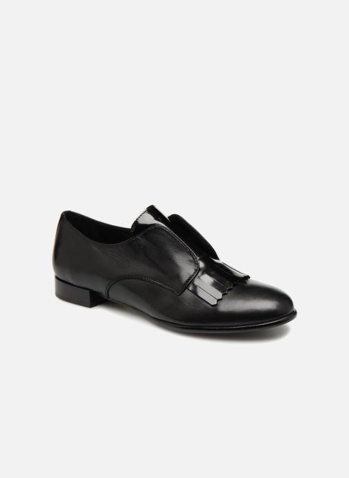 Loafers COSMOPARIS ELIAZ Black detailed view/ Pair view