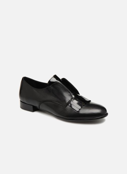 Loafers COSMOPARIS ELIAZ Black detailed view/ Pair view