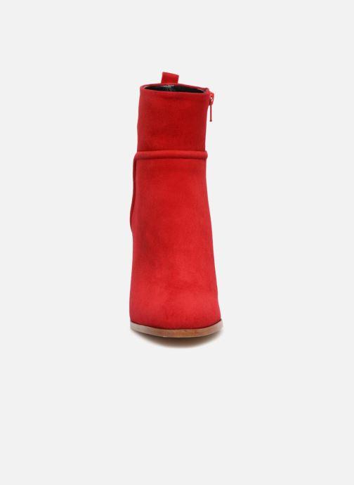 Stiefeletten & Boots COSMOPARIS METI / VEL rot schuhe getragen
