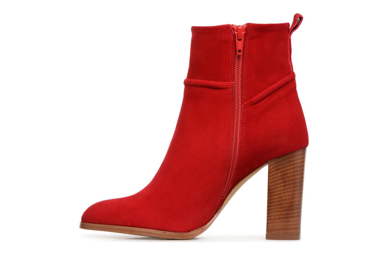 Stiefeletten & Boots COSMOPARIS METI / VEL rot ansicht von vorne