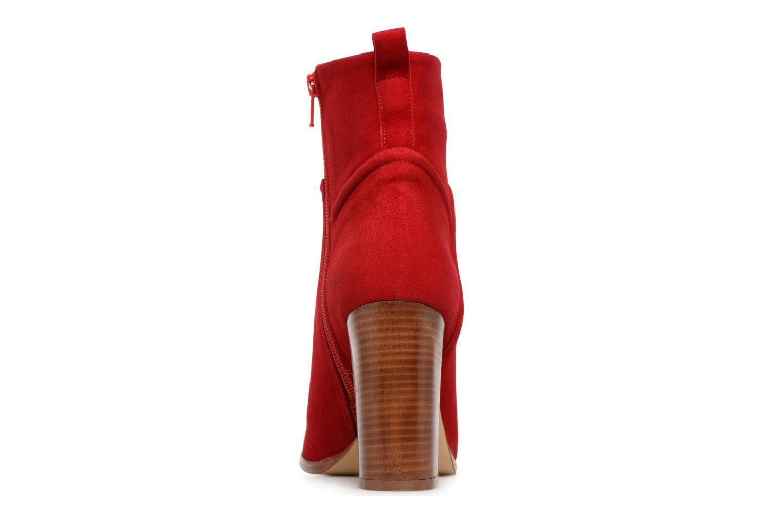 Stiefeletten & Boots COSMOPARIS METI / VEL rot ansicht von rechts