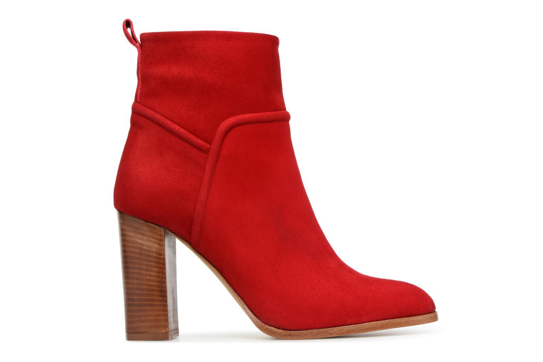 Stiefeletten & Boots COSMOPARIS METI / VEL rot ansicht von hinten