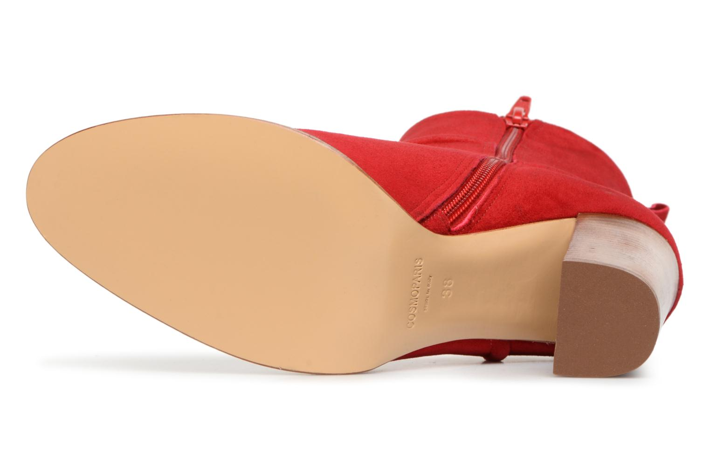 Stiefeletten & Boots COSMOPARIS METI / VEL rot ansicht von oben