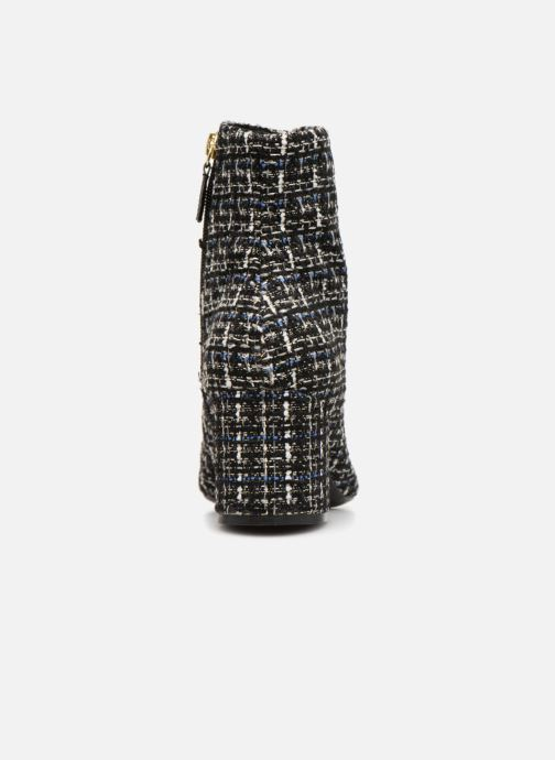 Boots Noir Et tweed Bottines marine Cosmoparis Ani CBsxtrQhd