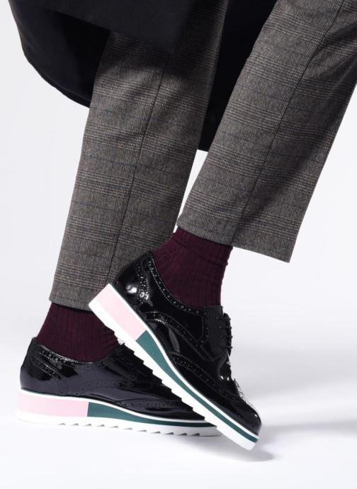 Zapatos con cordones COSMOPARIS VALLEA Negro vista de abajo